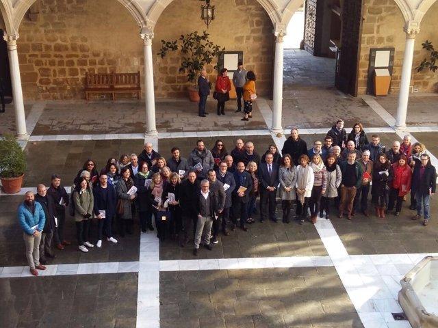 Inauguración de las XIII Jornadas de Escuelas de Arte de Andalucía.