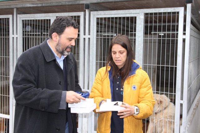 Ricardo Fernández y Eva Rodriguez