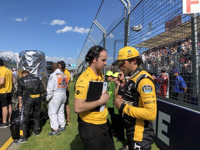 Carlos Sainz Renault Australia