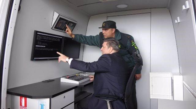 Visita Del Director General De La Guardia Civil A Fuentes De Oñoro.