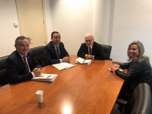 Reunión dentistas y PSOE