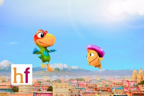 Cine para niños: El Americano