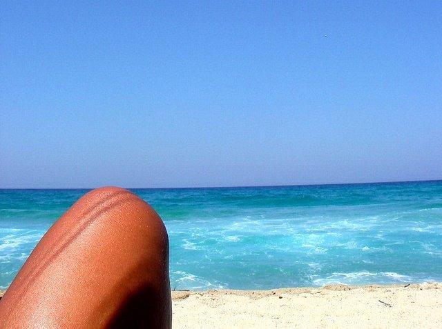 Sol, Playa, Moreno, Bronceado