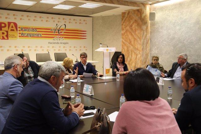 Reunión de Aliaga con alcaldes ribereños este viernes en la sede del PAR.