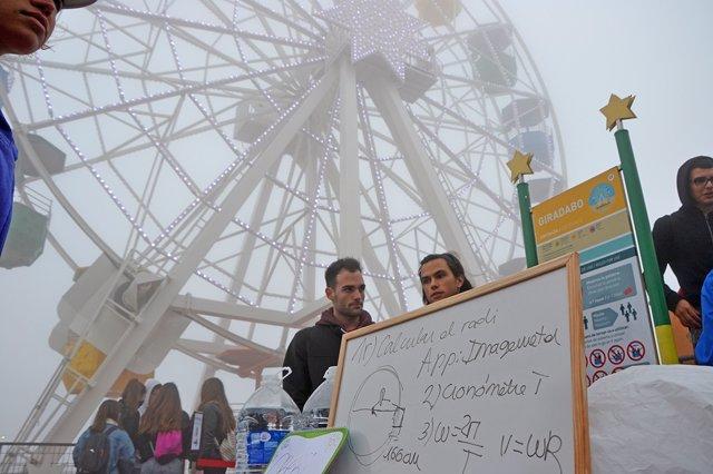 Actividades científicas en el parque de atracciones Tibidabo