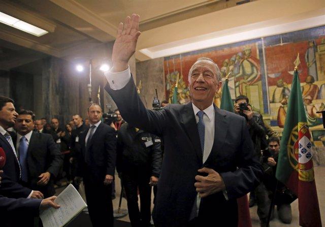 El presidente electo de Portugal, el conservador Marcelo Rebelo de Sousa