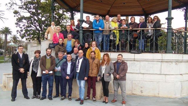 Cargos y afiliados PSOE Primarias abiertas