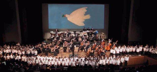 Concierto paz orquesta provincial sinfónica Diputación de Málaga