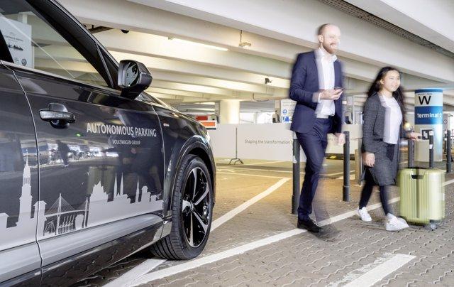 Sistema de estacionamiento autónomo del grupo Volkswagen