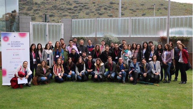 Residentes en oncología médica en Andalucía se citan en Granada