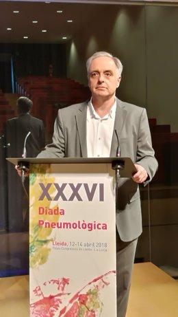 El pneumòleg Joan Ramon Rozadilla