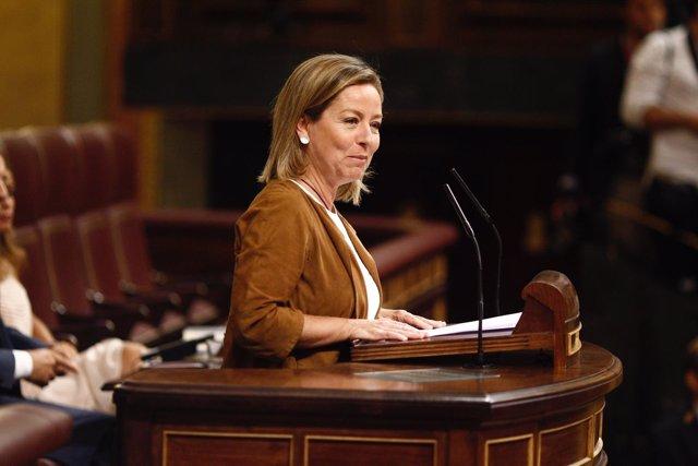 Ana Oramas en el debate de investiduras de Rajoy
