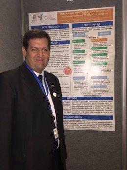 Fundación New Health en un congreso sobre paliativos en Chile