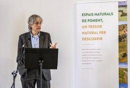 El director general de Desarrollo rural de la Generalitat, Oriol Anson