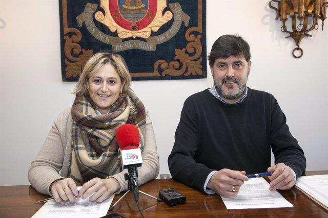 Esther Bolado y Héctor Lavín presentan los presupuestos