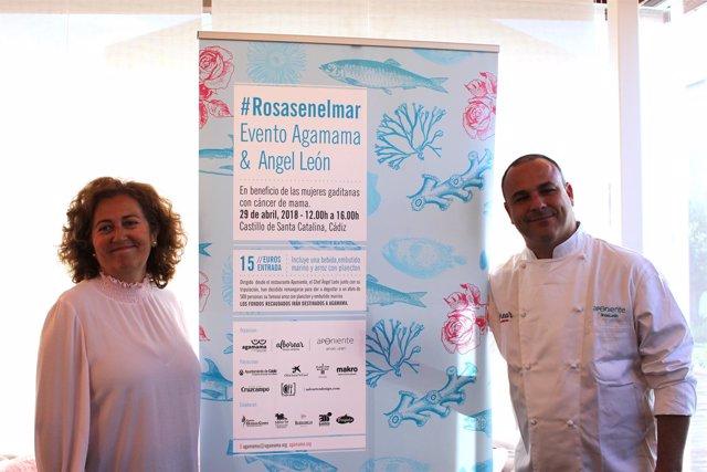 El chef Ángel León presenta la campaña #rosasenelmar