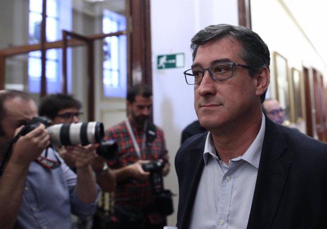 Ignacio Prendes en una imagen de archivo en el Congreso