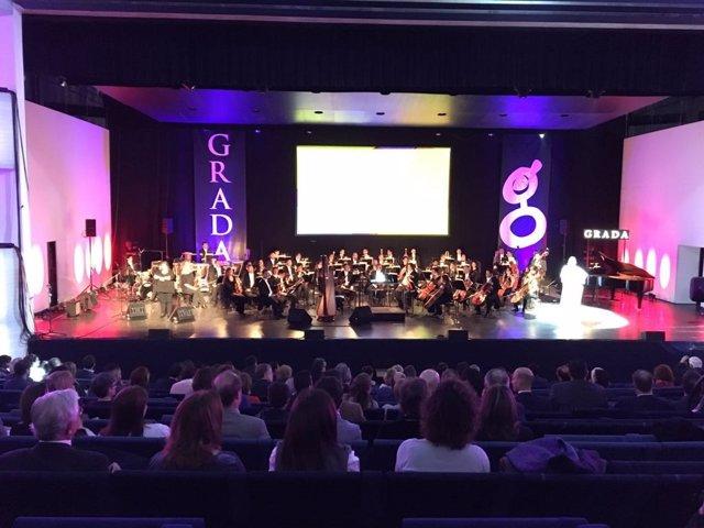Gala de entrega Premios Grada