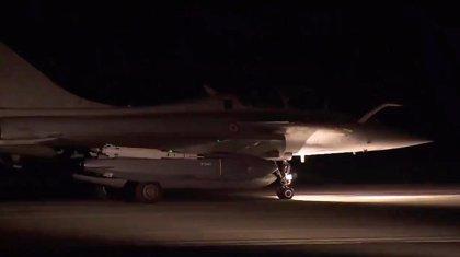 Al menos tres civiles heridos por el ataque conjunto de EEUU, Francia y Reino Unido contra Siria