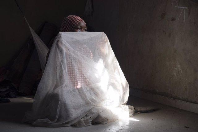 Niña secuestrada por Boko Haram