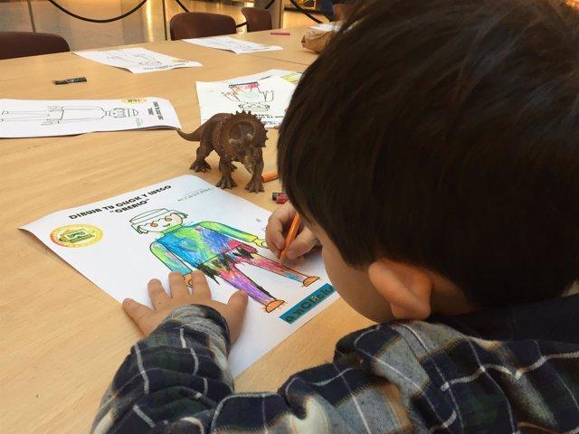 Uno de los talleres gratuitos de Playmobil para niños