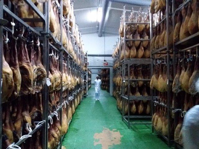 Secadero de jamones en Jerez de los Caballeros