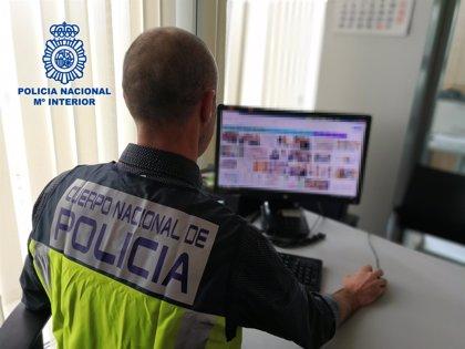 Detenido en La Rioja un varón de 31 años por un delito de pornografía infantil