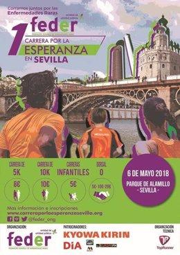 Celebración de la primera 'Carrera por la esperanza' en Sevilla