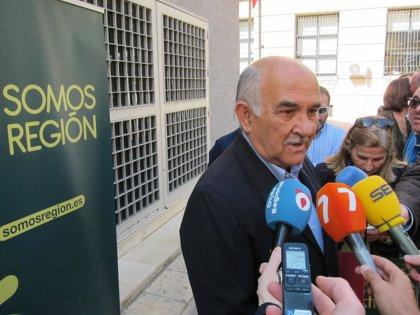 """Alberto Garre: """"Si la política presupuestaria del Gobierno va a seguir los pasos de los cupos, Somos Región los pedirá"""""""