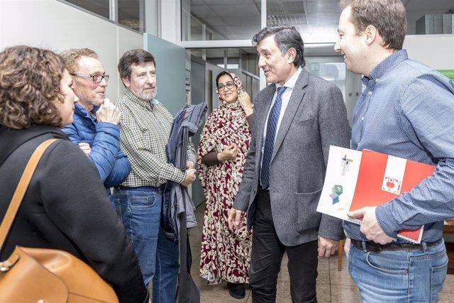 Mañanes con la delegada saharaui en Cantabria