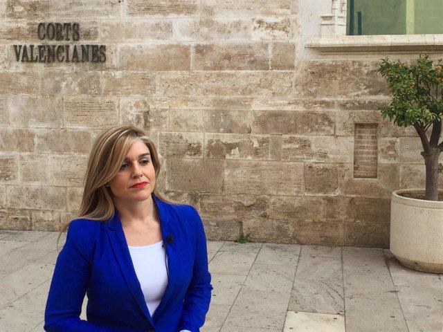 La secretaria general del PPCV, Eva Ortiz