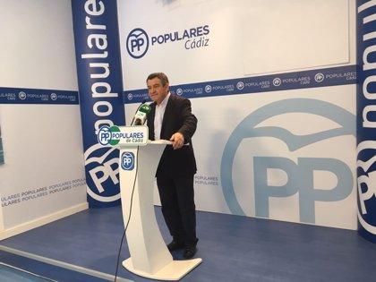 PP pide en Diputación de Cádiz mejoras en fluidez de tráfico y seguridad en carreteras de Conil