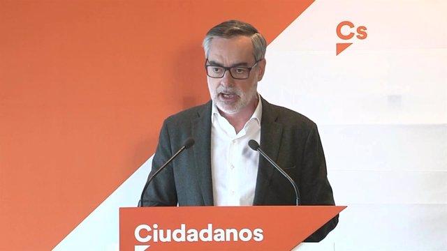 Villegas declara en un acot de Ciudadanos