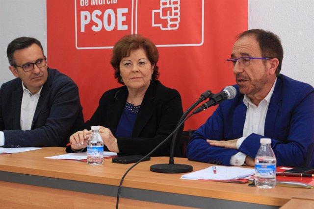 El secretario de Justicia y Nuevos Derechos del PSOE, Andrés Perelló