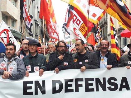 """Javier Pacheco (CC.OO.) acusa al PP de ser """"el peligro del sistema público de pensiones"""""""