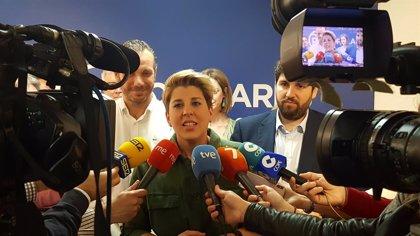 """López Miras: """"Con Noelia Arroyo como candidata a la Alcaldía gana Cartagena"""""""