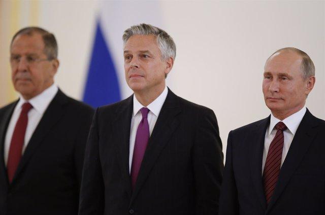 Embajador EEUU en Rusia, Jon Huntsman