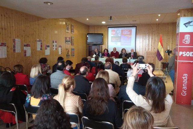 El PSOE reivindica los valores de la Segunda República en su 87 aniversario