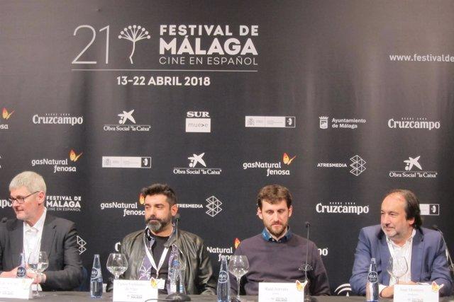 Raúl Arévalo Festvival de Cine 'Memorias de un hombre en pijama