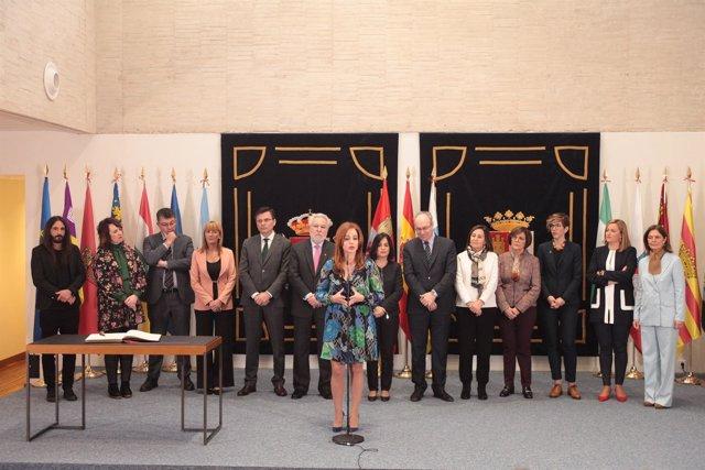 Valladolid.- Reunión de la Coprepa en las Cortes de Castilla y Leon