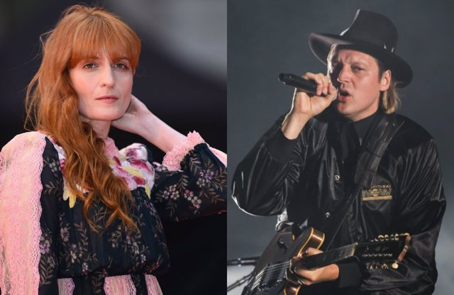 Arcade Fire y Florence