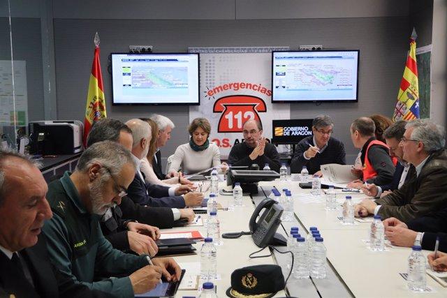 Reunión del CECOP este sábado en Zaragoza.