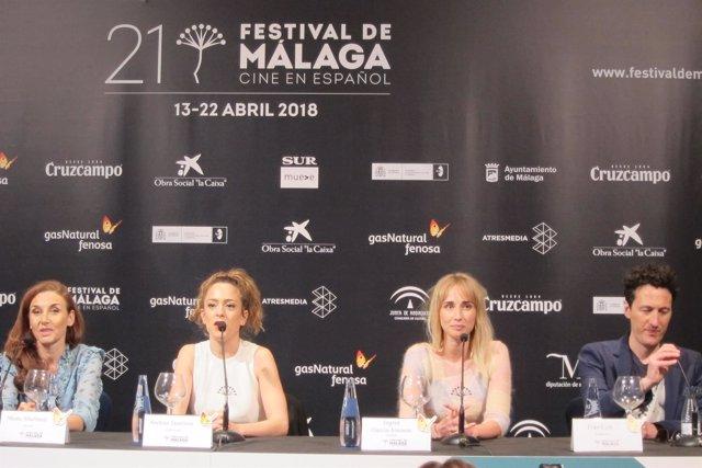 Ana de día Festival de Málaga Andrea Jaurrieta