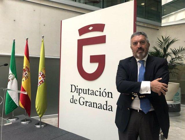 El diputado provincial de Ciudadanos en Granada Francisco Rodríguez