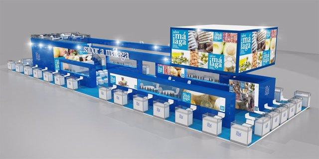 Estand Sabor a Málaga Salón Alimentaria de Barcelona