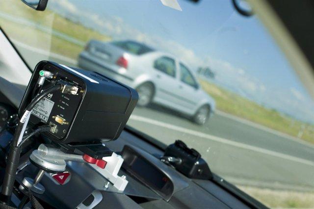 Campaña especial de control de velocidad de la DGT