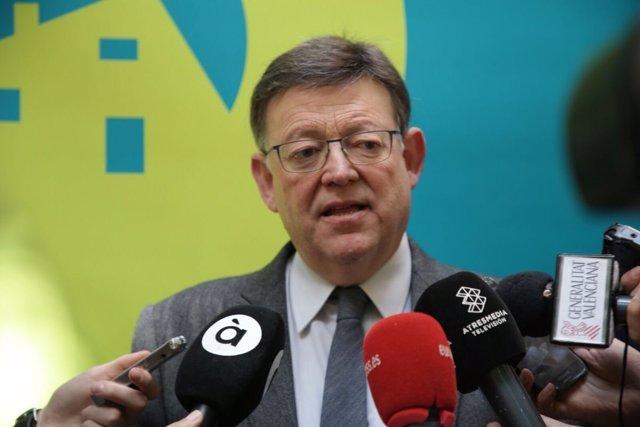 Ximo Puig, presidente de la Generalitat Valenciana y secretario general del PSPV