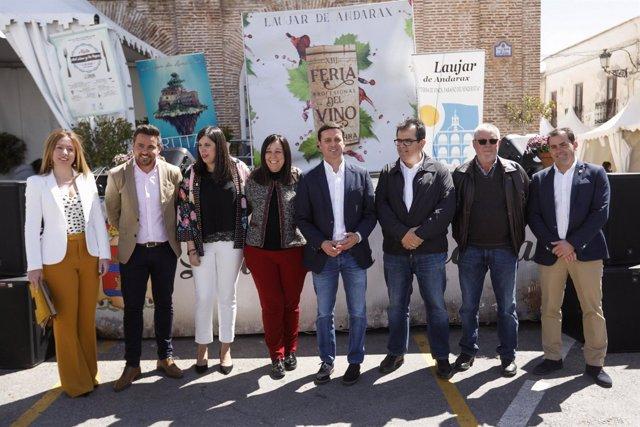 Inaugurada la XIII Feria del Vino de la Alpujarra
