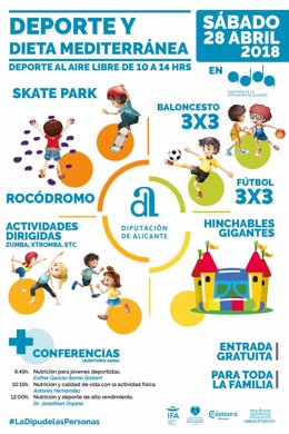 Diputacion Alicante Jornada Deporte Y Dieta Mediterranea