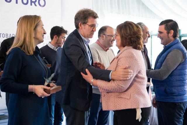 Acto de homenaje a alcaldes y cargos populares fallecidos del PP en Pontevedra